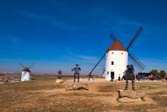 Molino El Gigante, protagonista de las fiestas de Mota del Cuervo