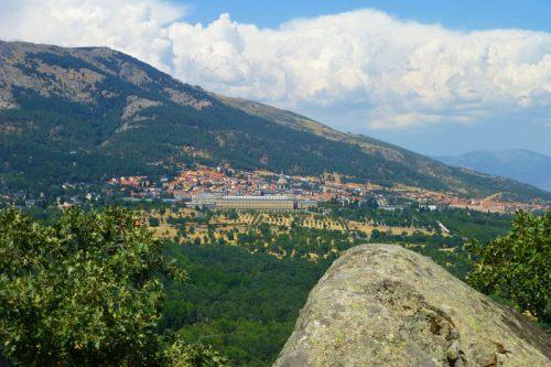 Monasterio de El Escorial desde la Silla de Felipe II
