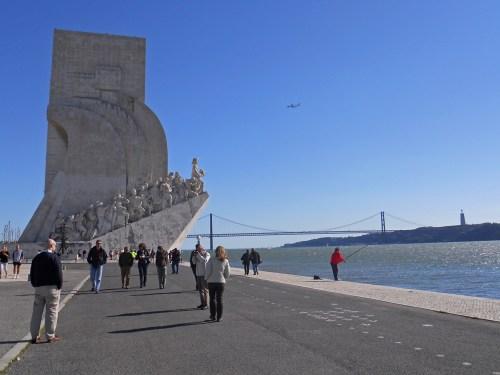 Monumento a los Descubrimientos en Lisboa, historia de Lisboa