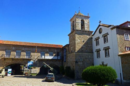 Museo Militar de La Coruña, ubicado en el antiguo Convento de San Francisco