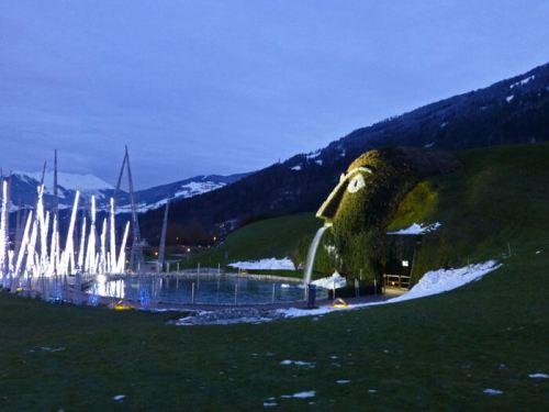 Los Mundos de Cristal de Swarovski en Wattens
