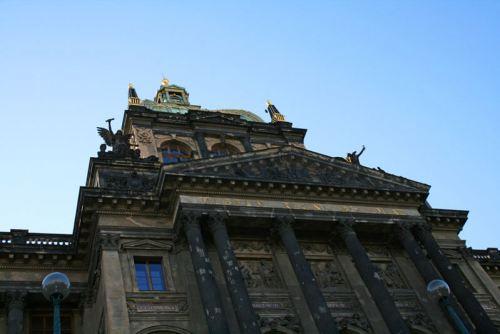 Sede principal del Museo Nacional de Praga