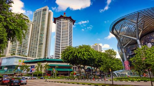 Orchard Road, el distrito comercial más famoso de Singapur
