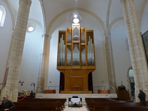 Órgano de la Iglesia de Santa María la Mayor