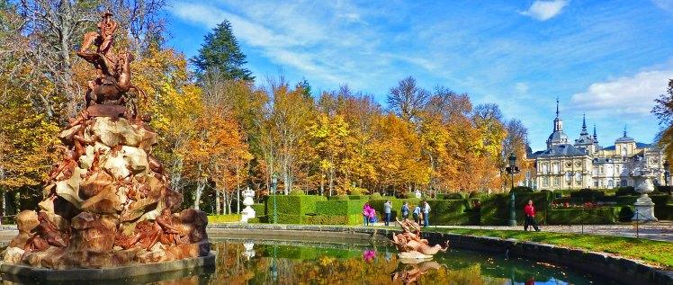 Los jardines de La Granja de San Ildefonso se visten de gala para recibir el otoño