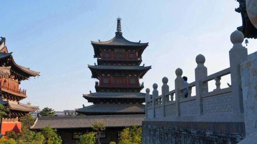Pagoda del Monasterio Huayan