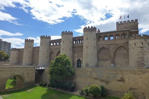 Palacio de Aljafería, uno de los mejores ejemplos de la arquitectura islámica en España, historia de Zaragoza