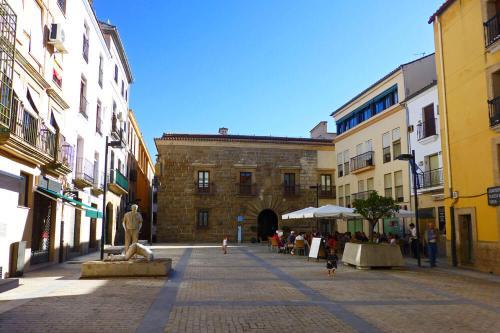 Palacio Carvajal Girón, uno de los edificios monumentales de Plasencia