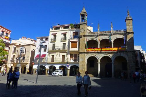 Palacio Municipal, sede del Ayuntamiento de Plasencia