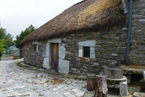 O Cebreiro en Lugo, uno de los tradicionales pueblos de la Comarca de Los Ancares