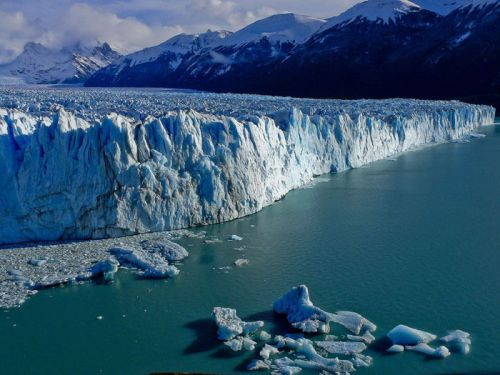 Glaciar Perito Moreno, el principal atractivo del Parque Nacional Los Glaciares