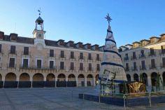 Plaza Mayor de Ocaña en Navidad