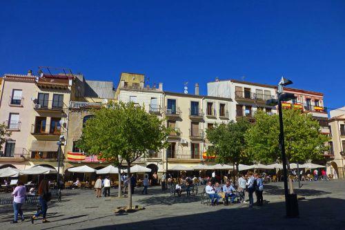 Plaza Mayor de Plasencia, el centro de las fiestas populares y otras celebraciones