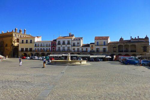 La Plaza Mayor de Trujillo es el centro de las fiestas y celebraciones populares