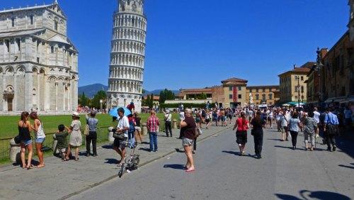 Plaza de los Milagros, la más visitada de Pisa