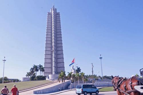 Plaza de la Revolución, un símbolo de la Revolución Cubana, fiestas de La Habana