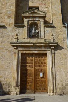 Portada de la Iglesia de Santiago en Turégano