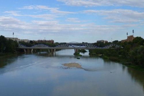 Río Ebro a su paso por Zaragoza, atracciones de Zaragoza