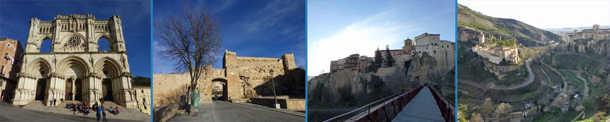 Guía turística con toda la información necesaria para visitar Cuenca, con todo lo que hay que ver y hacer en la ciudad