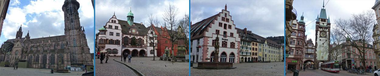 Guía de turismo con información y fotos para visitar Friburgo de Brisgovia en Alemania