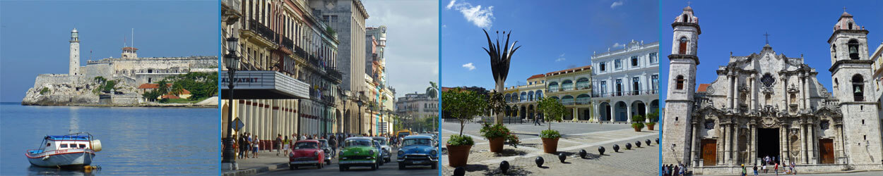 Guía de turismo con información y fotos para viajar a La Haban