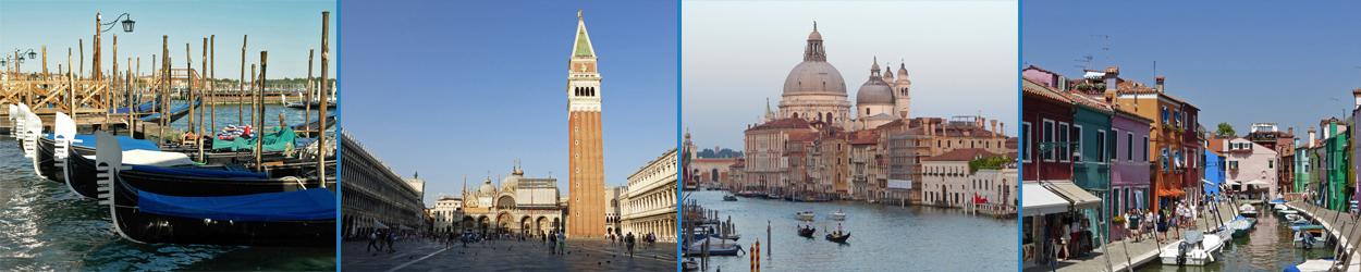 Guía turística con toda la información necesaria para visitar Venecia