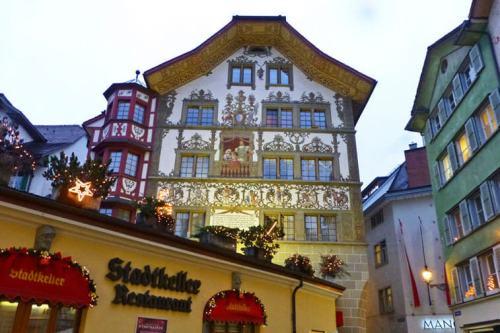 Casco histórico de Lucerna