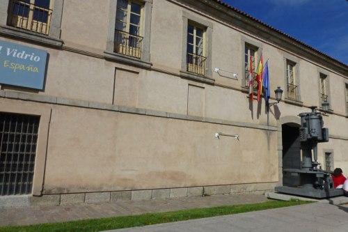 Real Fábrica de Cristales de La Granja en el Real Sitio de San Ildefonso