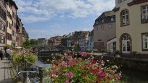 Río Ill a su paso por Estrasburgo