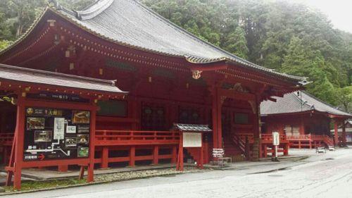 Santuario Futarasan, uno de los principales templos sintoístas de Nikko