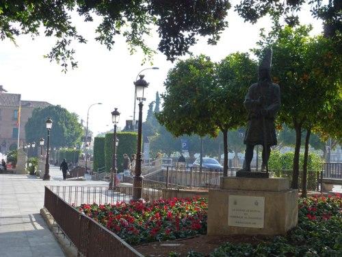 Monumento en honor de la Semana Santa de Murcia