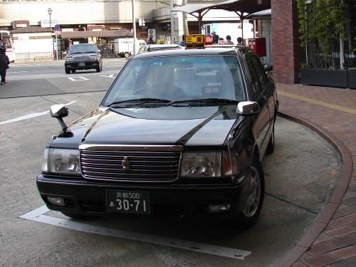 Taxi de Kioto, cómo moverse por Kioto