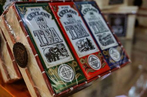 Té de Ceilán, uno de los productos más típicos de Sri Lanka