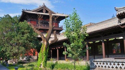 Puerta Principal del Templo Shanhua en Datong