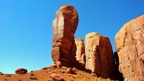 The Thumb o El Pulgar del Valle de los Monumentos