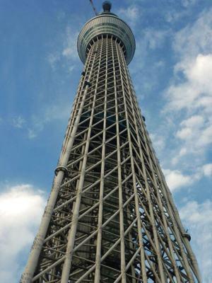 Tokyo Skytree de día