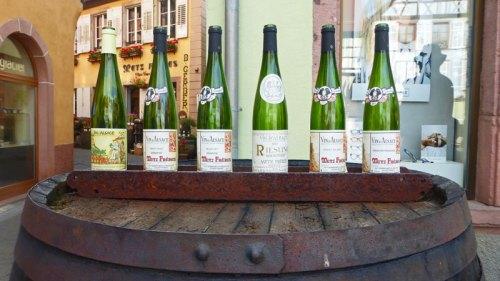 Variedades de vino de la Alsacia