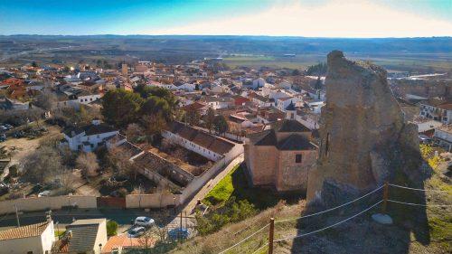 Vistas desde Fuentidueña de Tajo desde el Castillo de Santiago