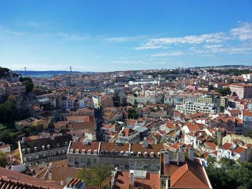Vistas panorámicas de Lisboa, historia de Lisboa