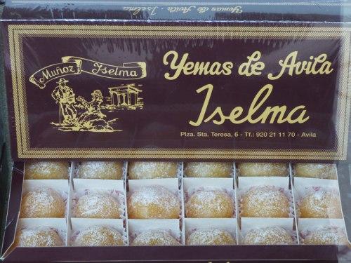 Yemas de Santa Teresa, dulce tradicional de Ávila