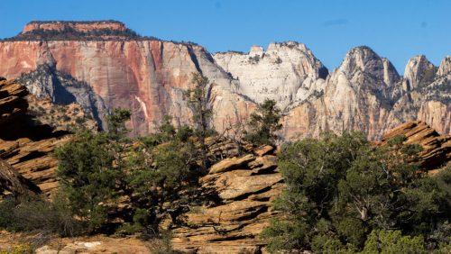 Zion National Park o Parque Nacional Zion en Utah