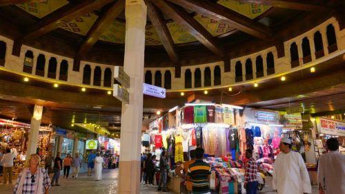 Zoco de Mutrah, una de las visitas imprescindibles de Mascate