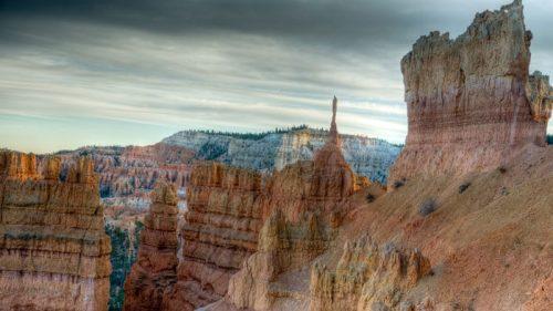 Formaciones rocosas del Cañón Bryce con más de 60 millones de años de antigüedad