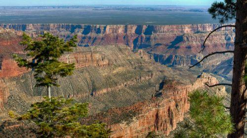 La inmensidad del Gran Cañón del Colorado desde uno de sus muchos miradores