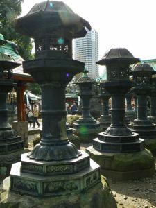 Linternas del Santuario Toshogu