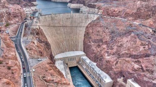 Presa Hoover en el extremo sur del Gran Cañón del Colorado