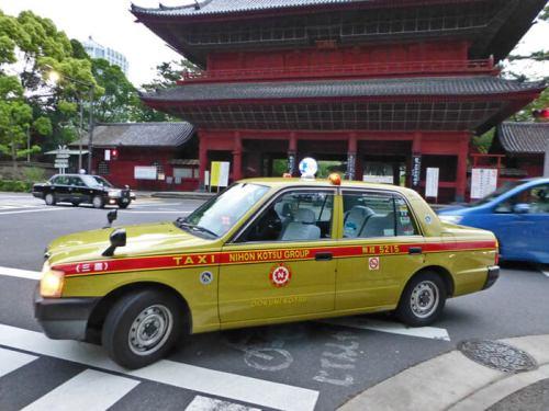 Taxi de Tokio, la forma más cómoda aunque más cara de moverse por la ciudad