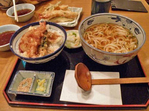 Tempura y udon, dos de los platos más económicos de la gastronomía japonesa