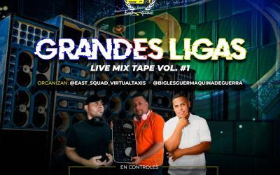 GRANDES LIGAS LIVE MIXTAPE  DJ ZIMBA X DJ ALEX