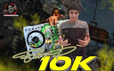 10K MIX LIVE  DJ JASSER X DJ CHOLITIÑO